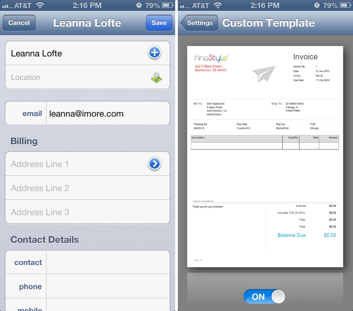 best iphone invoicing app for freelancers imore invoices to go app