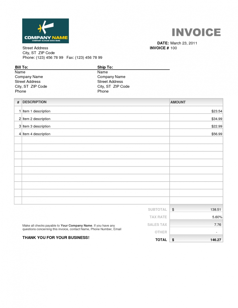 excel invoice sample template to download free for mac b sanusmentis invoice sample download