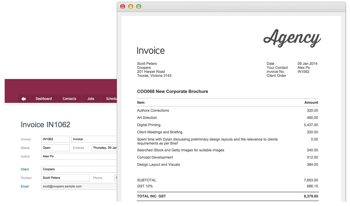 Creating An Invoice For Freelance Work