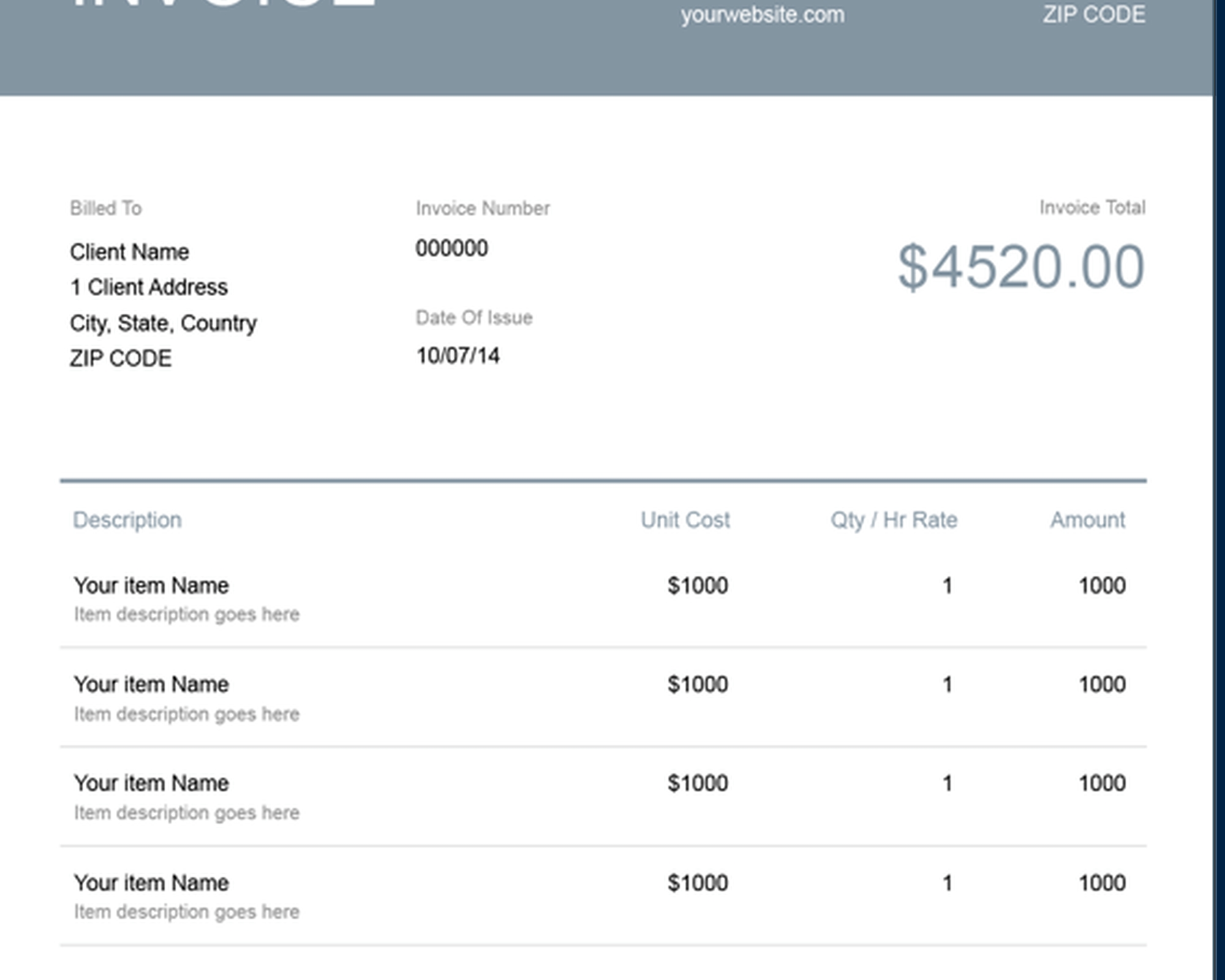 Invoice Open Source