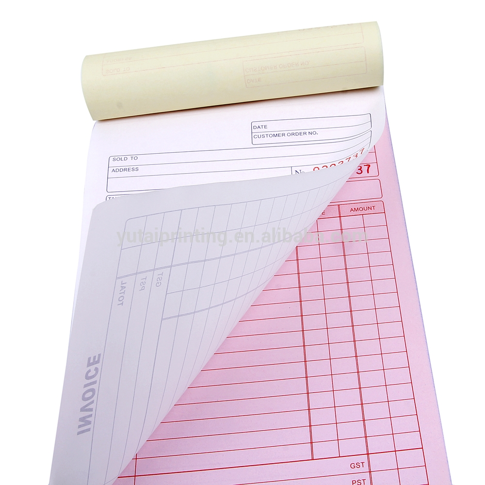 print invoice books vista print invoice books and bill receipt book printing supplier 1000 X 1000