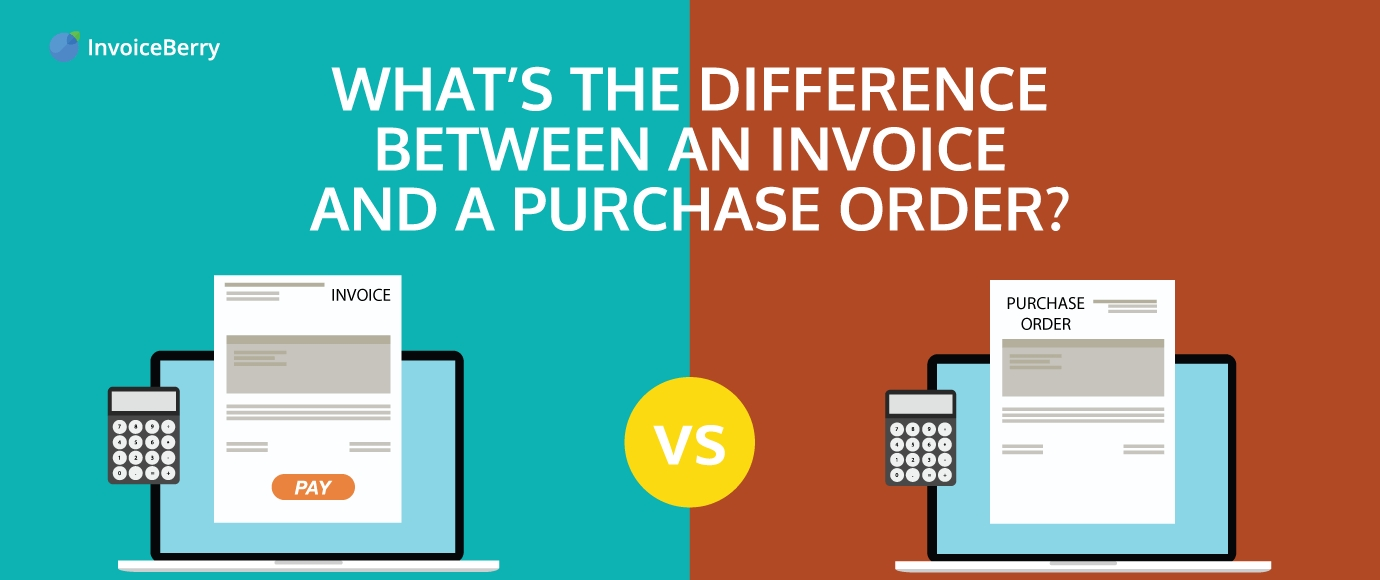 whats the difference between a purchase order and an invoice order vs invoice