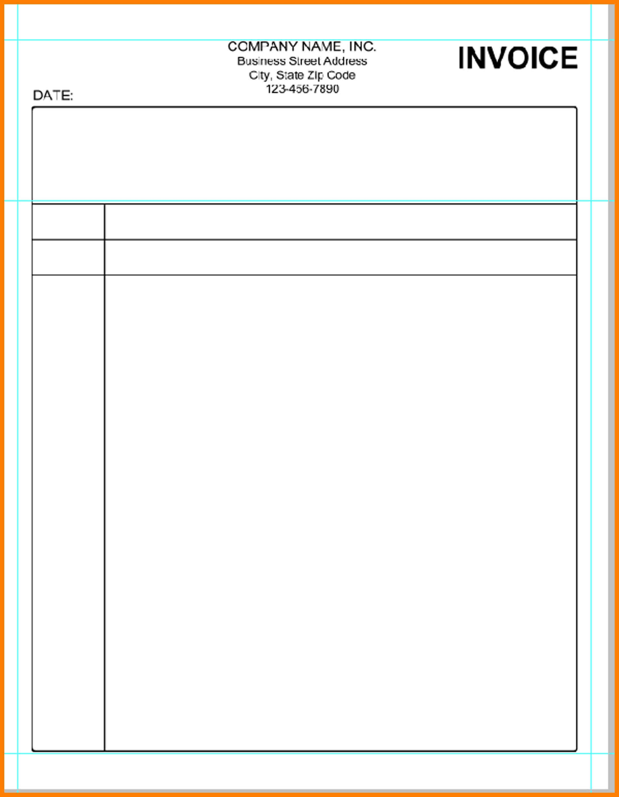 5 blank invoice template word cfo resumed blank invoice template word