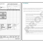 Carpet Cleaning Invoices
