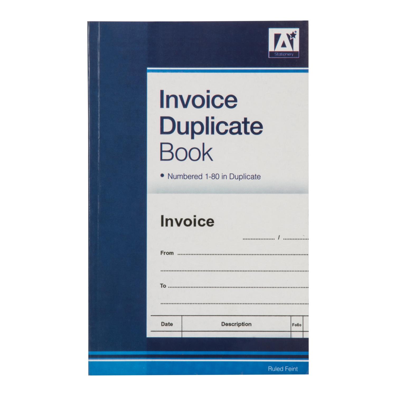 duplicate invoice book duplicate invoice books