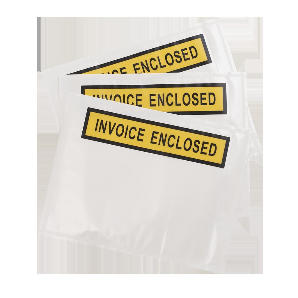 Invoice Enclosed Envelopes