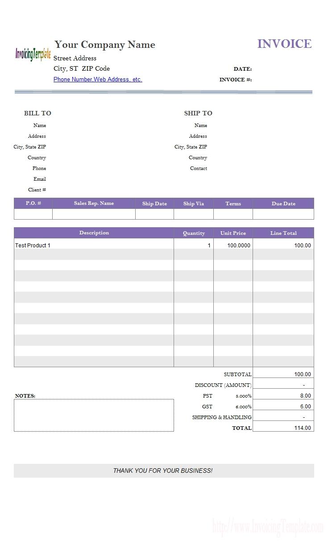 invoice template google docs google doc template invoice