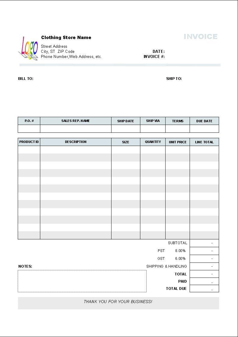 performance invoice template free invoice performance invoice template