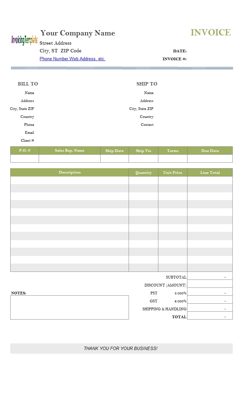 Cash Sales Invoice Sample Invoice Template Ideas – Sales Invoice Example