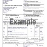 Canada Customs Invoice Instructions
