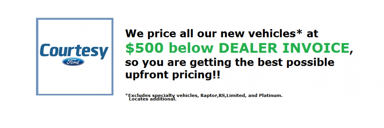 courtesy ford of brooklyn new used ford dealership brooklyn ct difference between dealer invoice and msrp