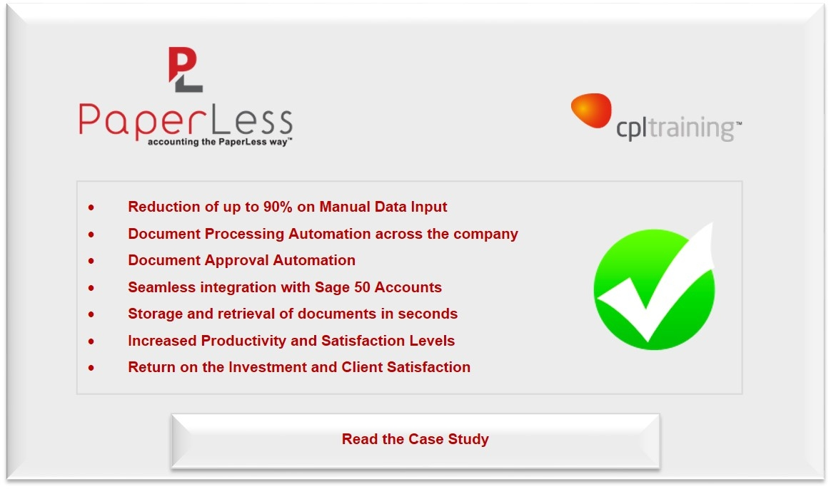 cpl training bets on invoice processing automation for sage and paperless invoice processing