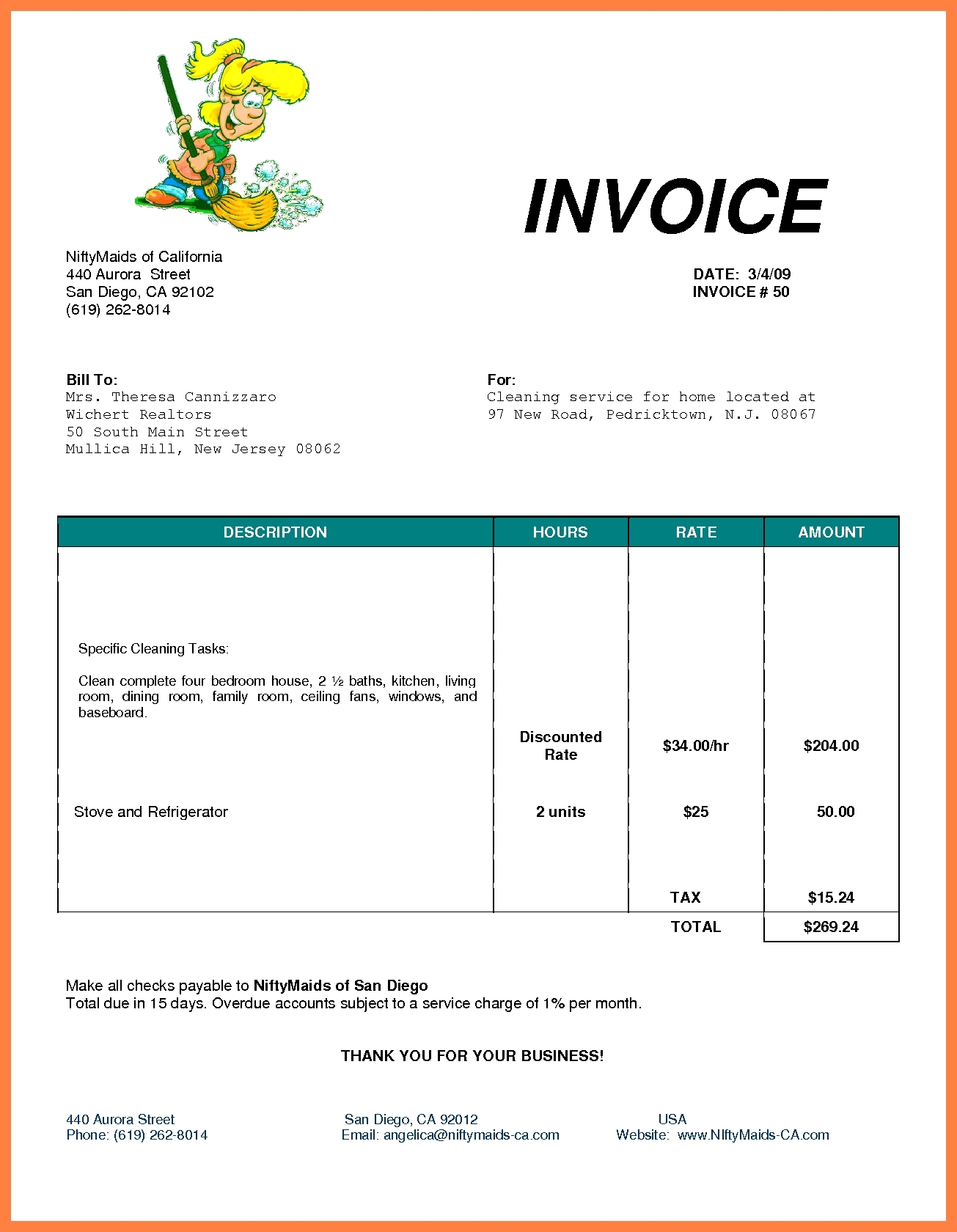 Invoice Templates Open Office Invoice Template Ideas