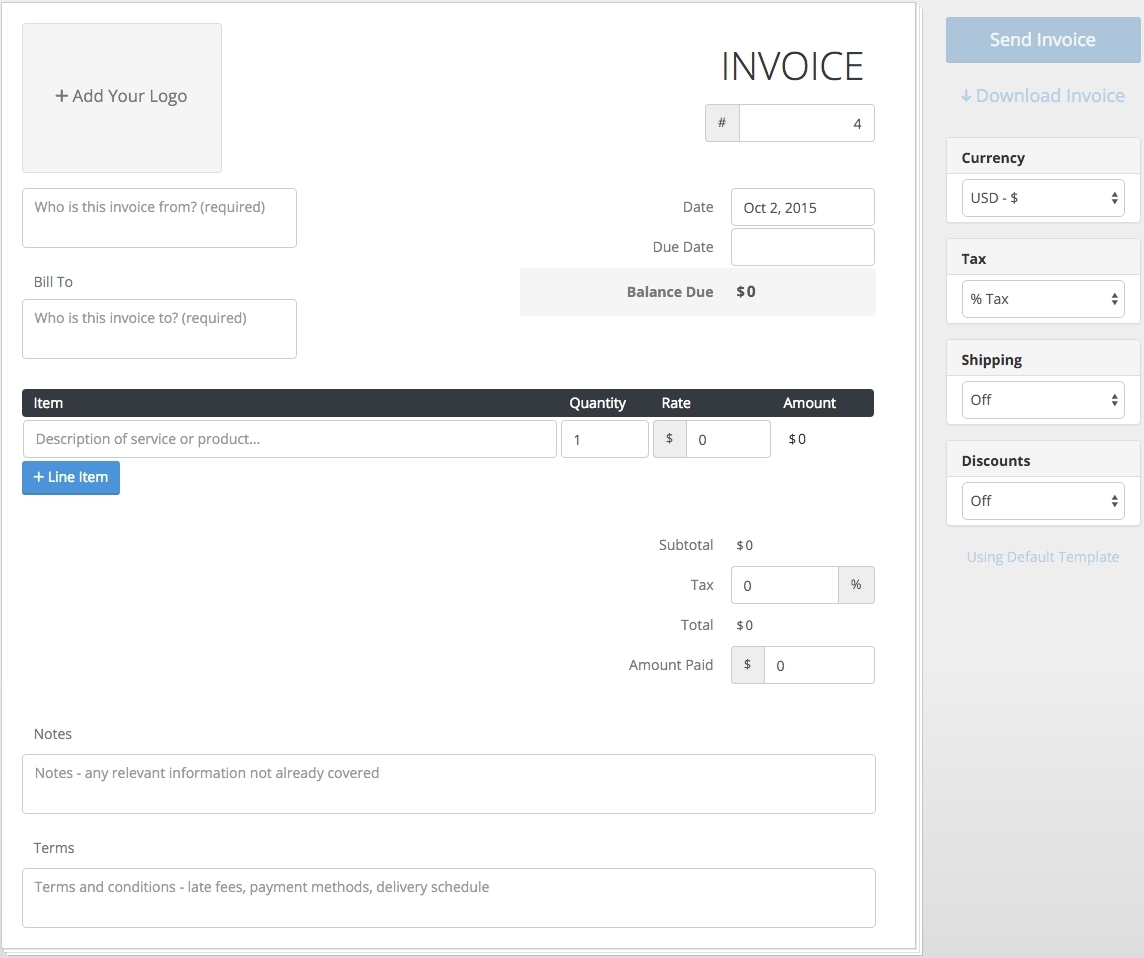 free invoice online invoice template ideas free invoice system