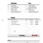 Digital Invoice Template
