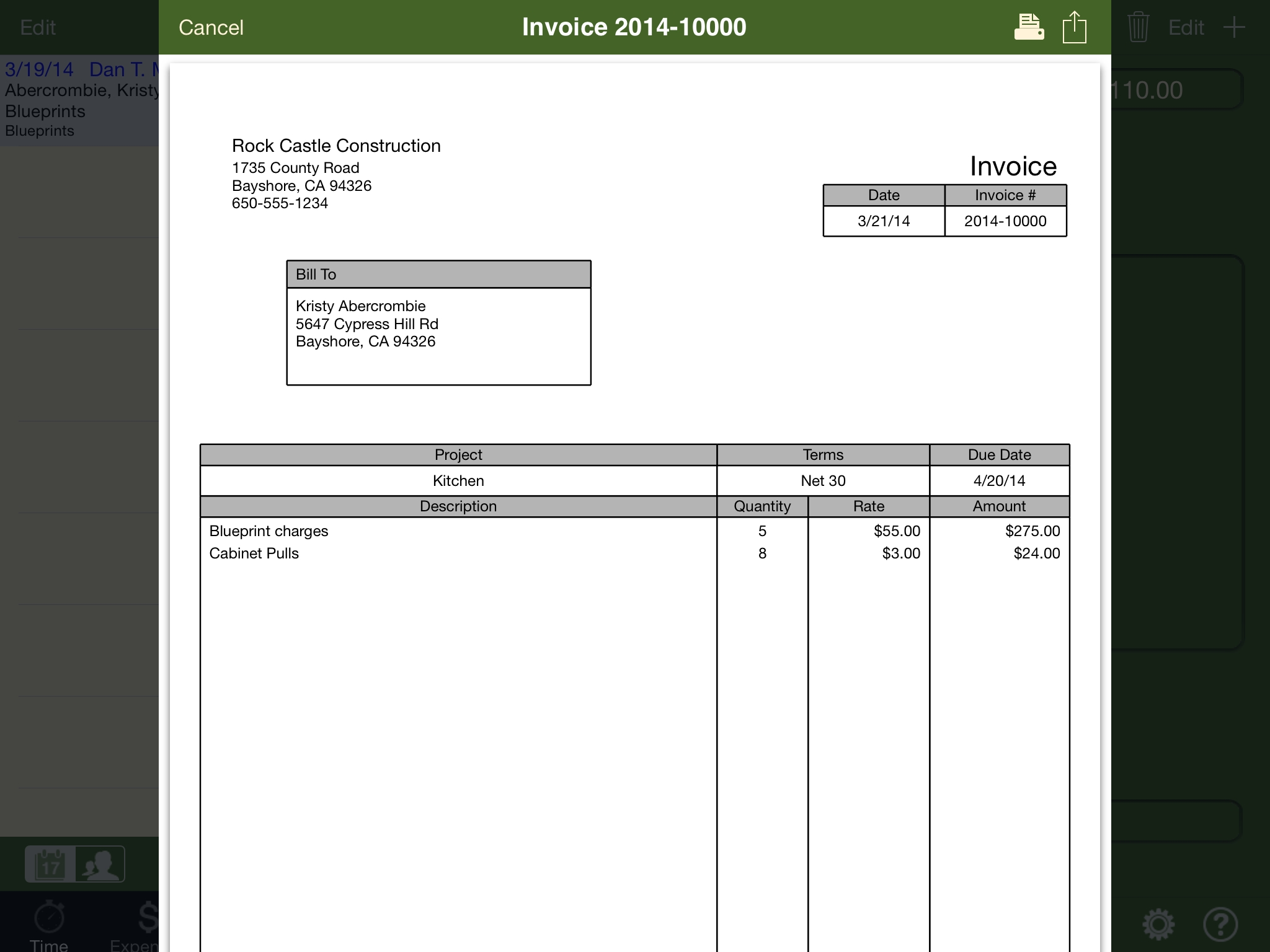 Quickbooks Import Invoice