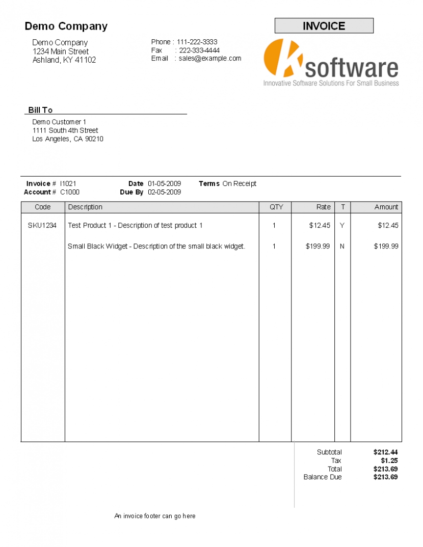invoice format free rent receipt uk standard template excel standard invoice form
