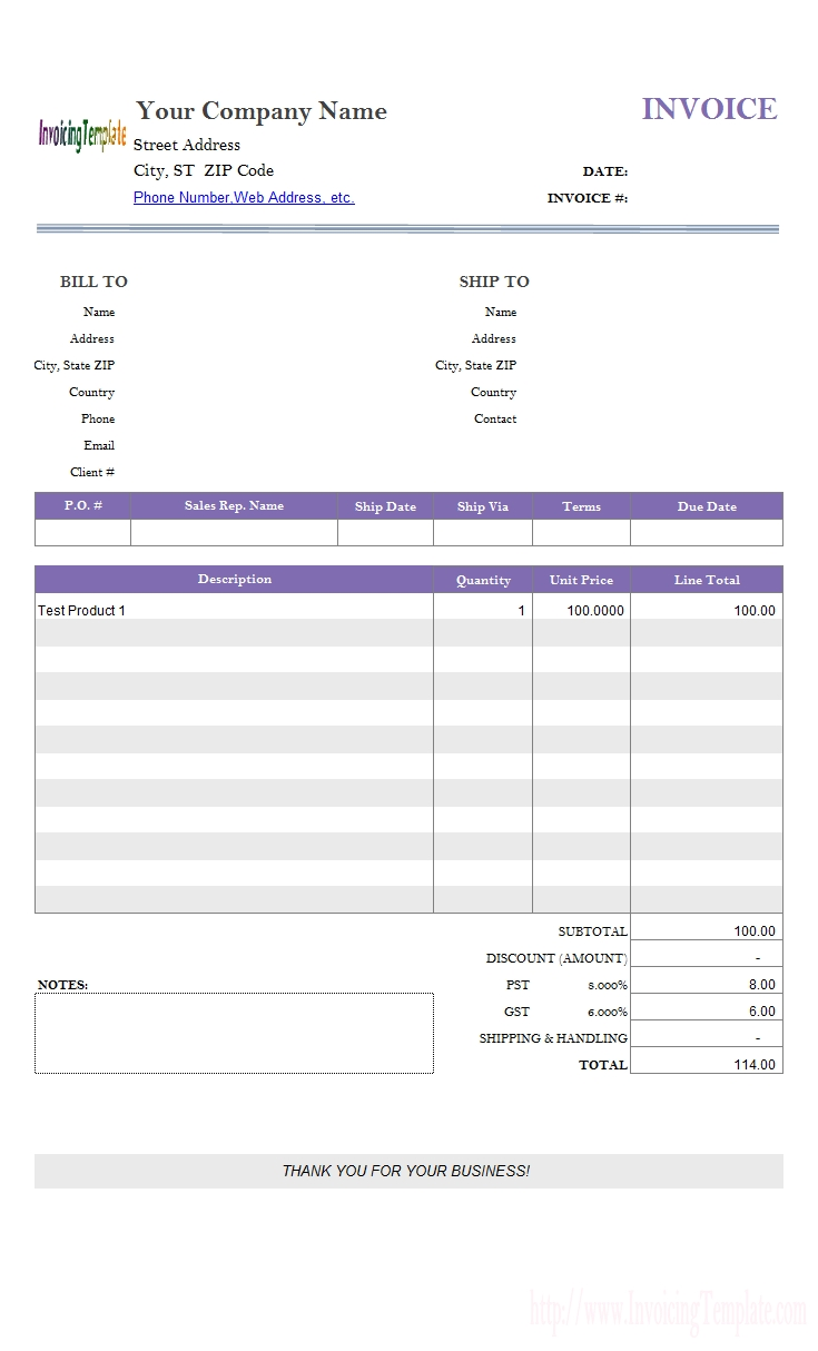 invoice template google docs google documents invoice template