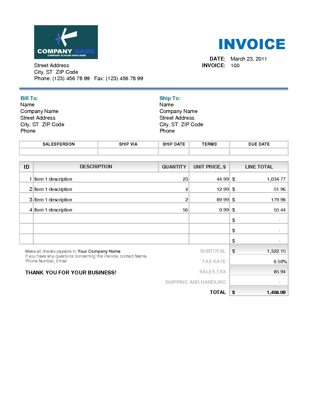 ... Sample Roofing Invoice Doc 600730 Roofing Invoice Template 4 Sample On  Excel Free Mdxar 1275 X