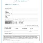 Sponsorship Invoice Template