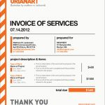 Freelance Graphic Design Invoice