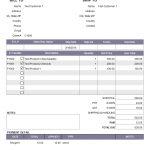 Paid Invoice Sample