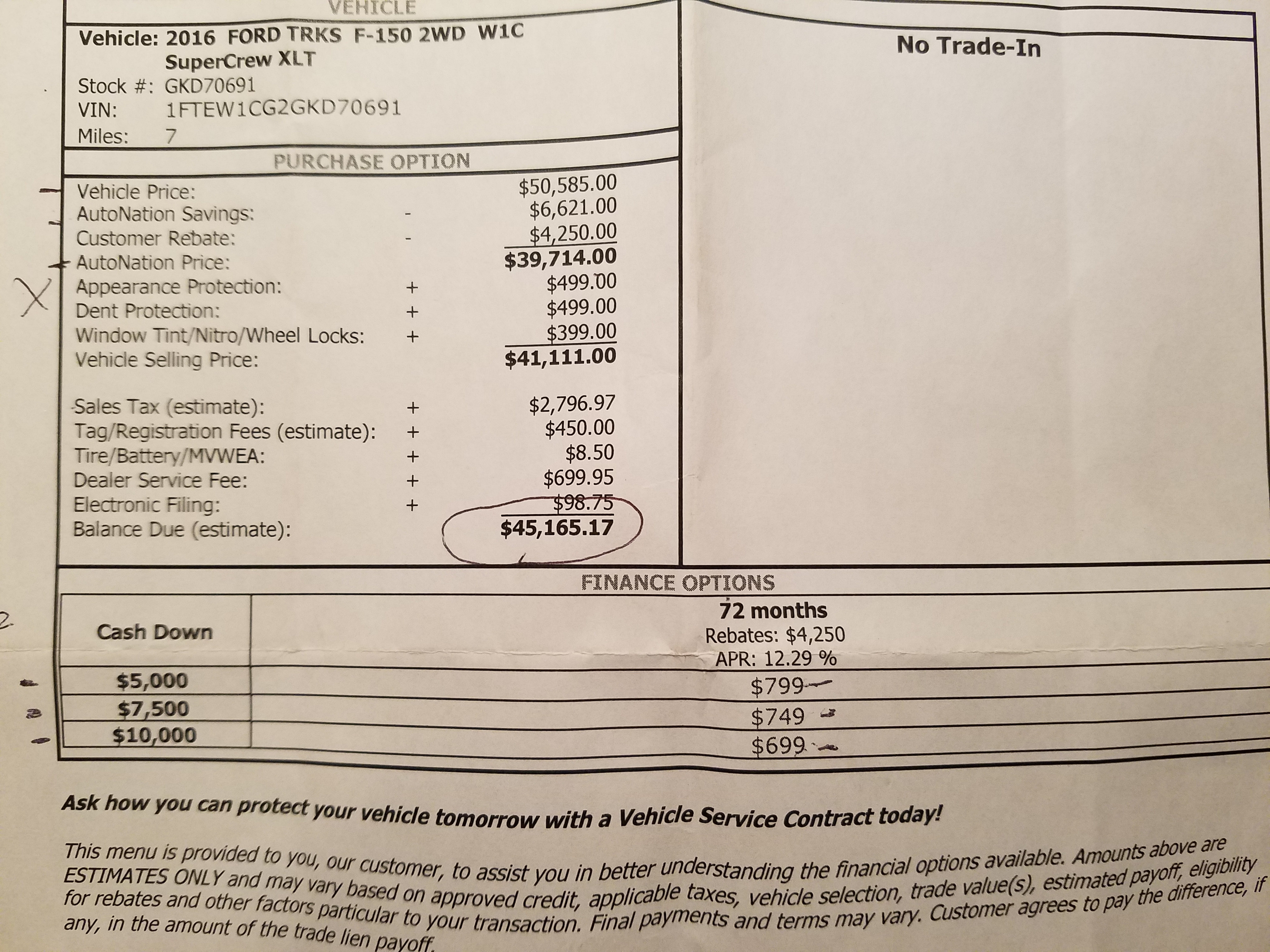 just tell us your under invoice price paid page 75 ford f150 invoice price ford f150