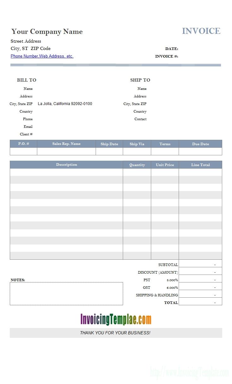 microsoft access invoice template invoice template access