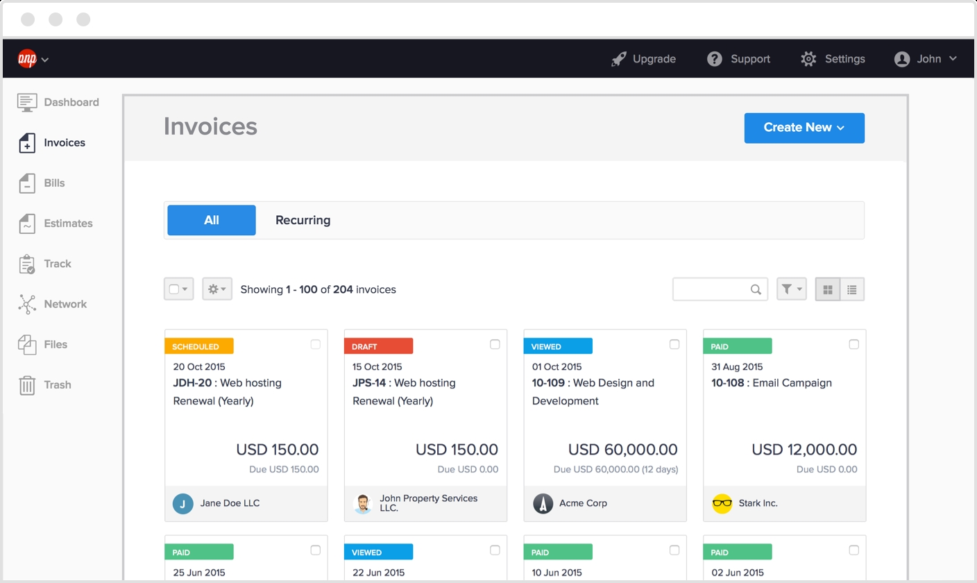 online invoice software hiveage software to create invoices