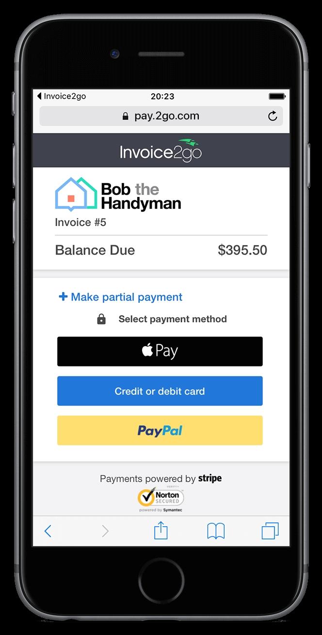 professional invoice app invoice templates tools invoice2go invoice to go plus