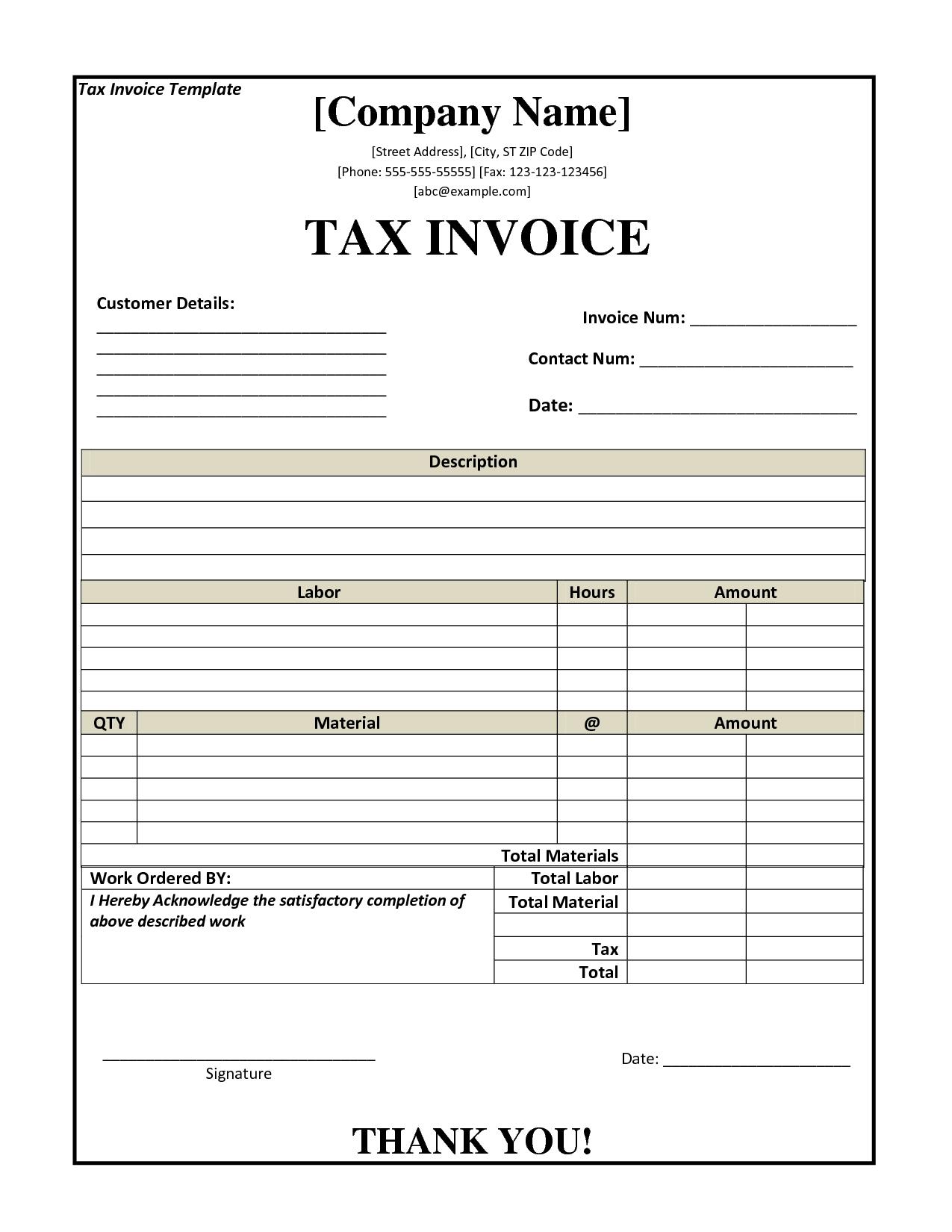 tax invoice template nz invoice template 2017 nz tax invoice template