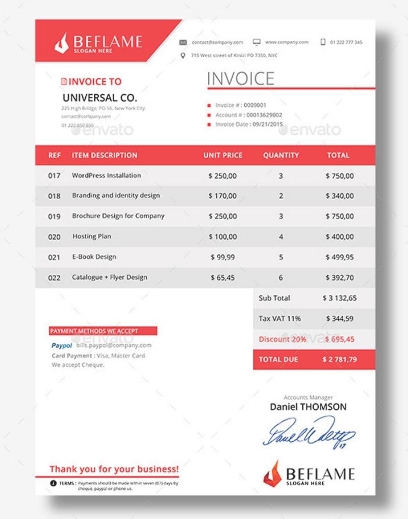 best invoice template firmsinja best invoice templates