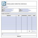 Freelance Invoice Templates