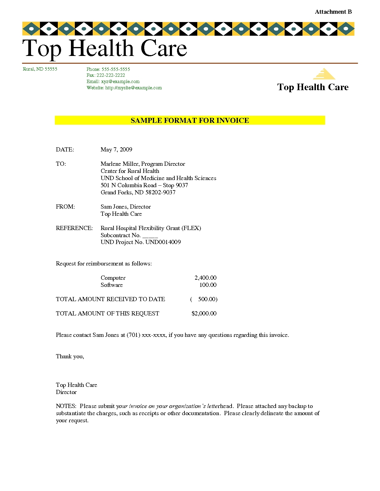 hospital invoice sample hospital invoice template invoice template ideas 1275 X 1650