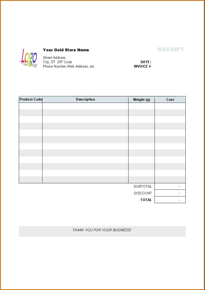 Invoice Pages Template