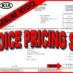 Kia Invoice Price