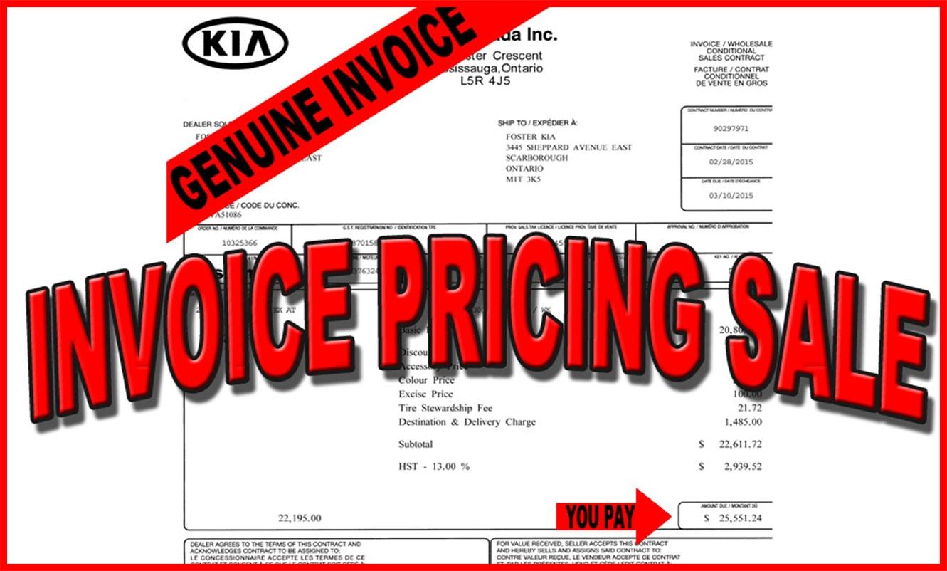 kia invoice price foster kia grand opening specials star foster kia dealer ontario 1331 X 802