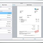 Invoice For Ipad