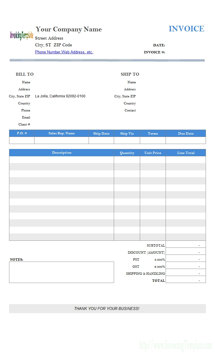 printable invoice templates free invoice template creator