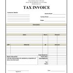 Sample Tax Invoice