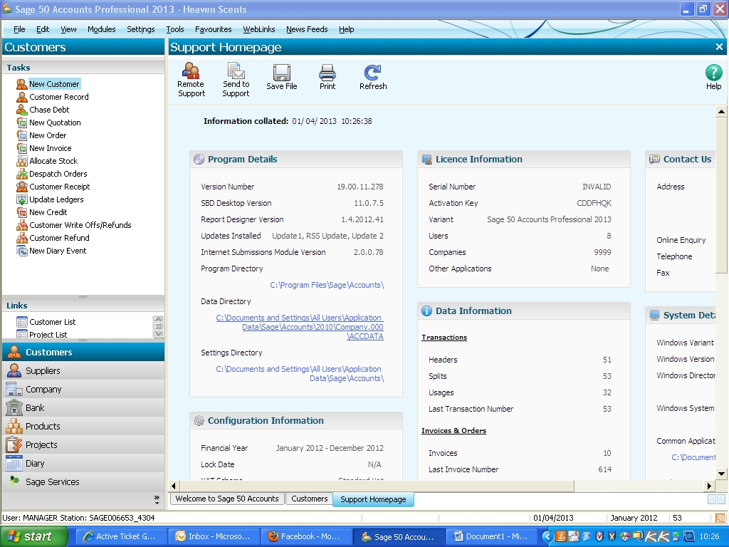 uploading your invoice templates sage pay sage line 50 invoice template