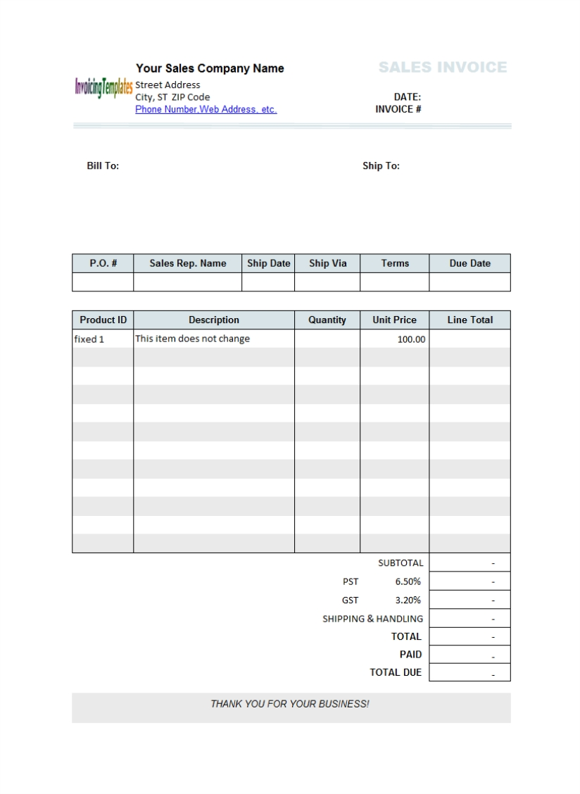 create excel invoice template free sample invoice for download create a invoice free