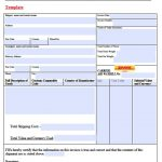 Dhl Commercial Invoice
