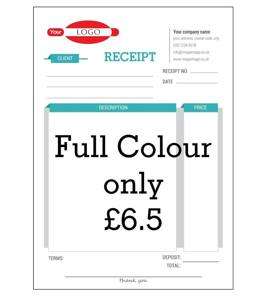 personalised invoice book business office industrial ebay invoice duplicate book personalised