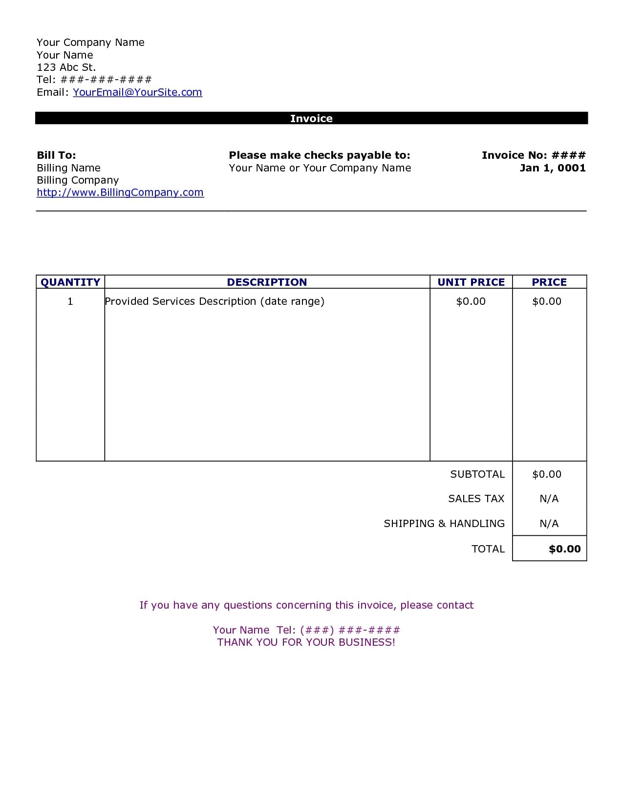 003 word invoice template free ideas excellent templates word invoice template please