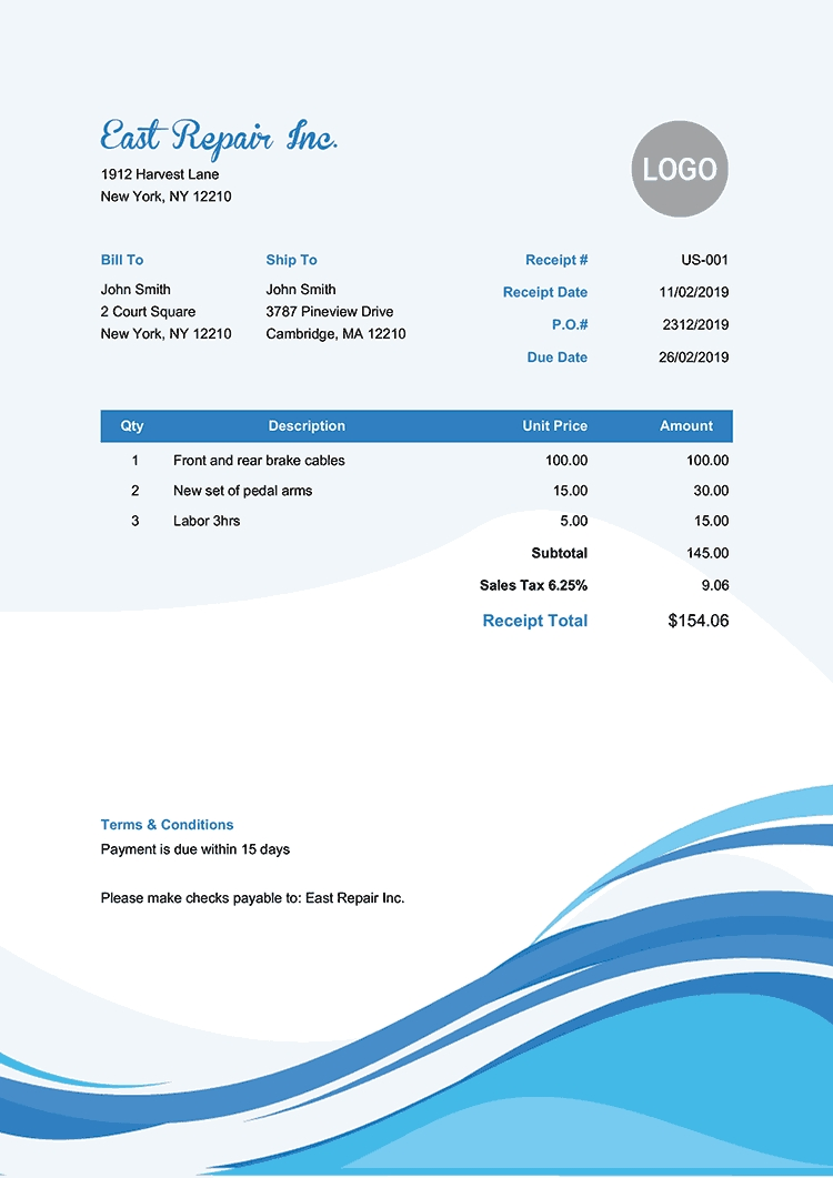100 free receipt templates print email receipts as pdf best samples of company receipt