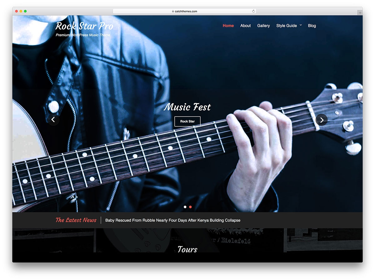 15 free music wordpress theme for band and event websites musical band form template