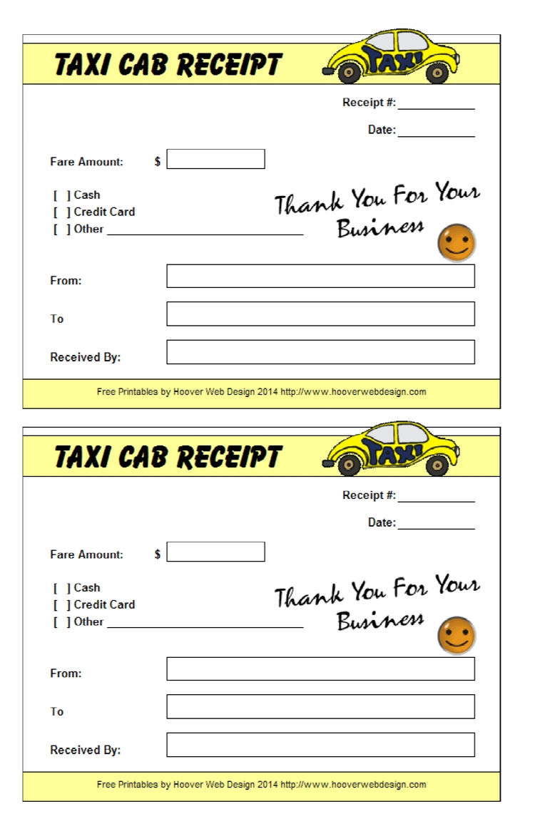 16 free taxi receipt templates make your taxi receipts easily singapore taxi receipt template