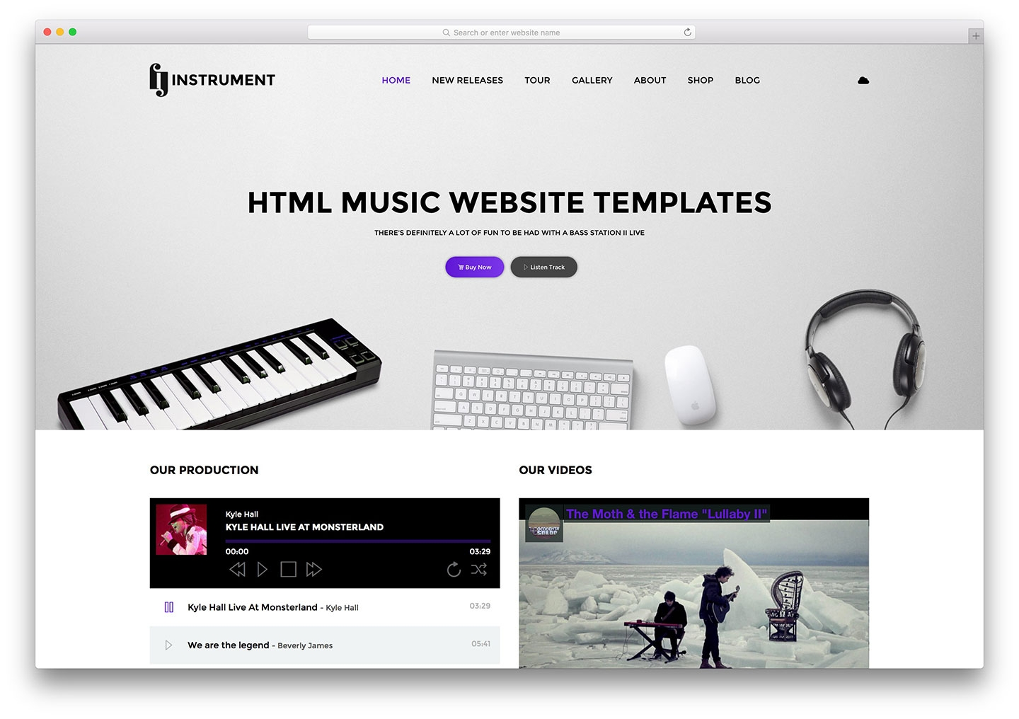 31 best responsive music website templates 2019 colorlib musical band form template