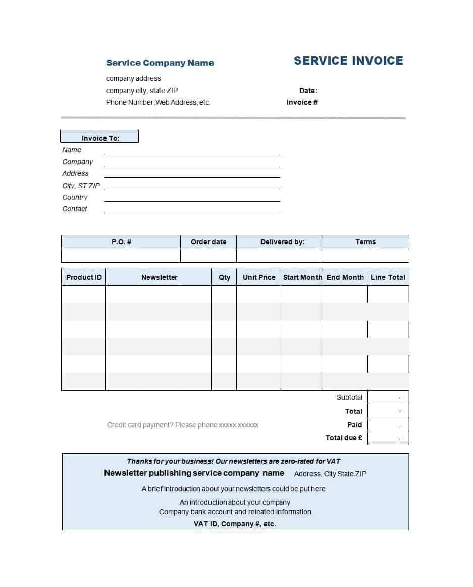 50 simple service invoice templates ms word template archive word invoice template please